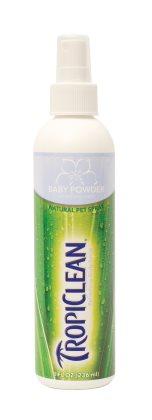 Tropiclean Baby Powder dry shampoo with balsam effect - 236ml