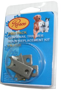 Extra Blade Guillotine Nail Clippers Resco - 6 blades