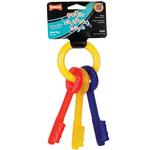 Nylabone Puppy Teething Keys - Bacon