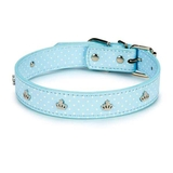 Canine Charmers Dog Collars - Blue - 35-46 cm