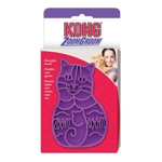 Kong Zoom Groom Rubber Pet Brush for Cats