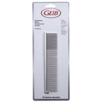 Geib Stainless Steel Greyhound Combs, Finish/Face