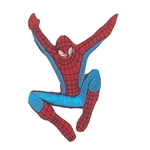 Embroidery Spiderman