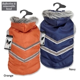 Zack & Zoey® Elements™ Arctic Reflective Coats- Orange