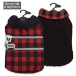Zack & Zoey ThermaPet Plaid Thermal Blanket Coats
