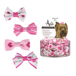 Aria Pretty Dog Rubber Bands 2 Pcs