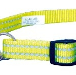 Adjustable Martingale Dog Collar - Yellow