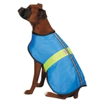 Kong Nor'easter Reflective Dog Coat - Blue