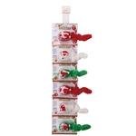 Zanies Winter Wigglers Cat Toy Clip Strips