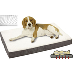 Petsters Orthopedic Memory Beds - Grey