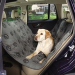 Pawprint Hammock Seat Covers - Grey