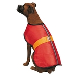 Kong Nor'easter Reflective Dog Coat - Red