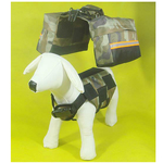 Petsters Quick Release Dog Backpack - Green