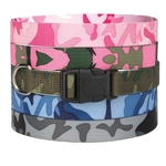 Camo Dog Collars - Blue Camo