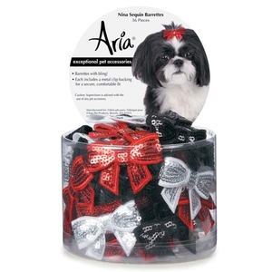 Aria Glam Christmas / New Year / Party Hair Splitter - 2 Pack