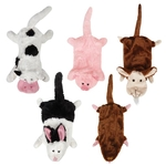 Grriggles Farm Friends Unstuffies Dog Toys