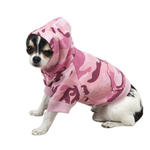Camo Dog Hoodies - Pink