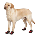 X-Treme Weather Dog Boots - Red