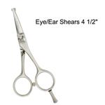 """Master Grooming Tools 5900 Stainless Steel Eye/Ear Shears 4 1/2"""""""
