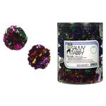 Savvy Tabby Mylar Ball Cat - 45-pack