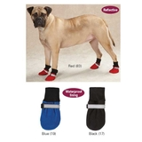 Weatherized Fleece Dog Boots - Blue