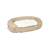Petsters Orthopedic Memory Foam Beds - Beige - Small