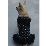 Petster Dotted Fashion Dress - Black