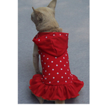 Petster Dotted Fashion Dress - Red