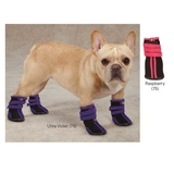 High Top Neoprene Dog Boots - Medium - Pink