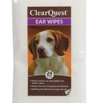 ClearQuest Ear Wipes for dogs and cats