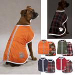 Noreaster Blanket Dog Coats - Red