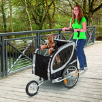 Jogging Kit For Doggy Liner Deluxe Bike Trailer Up to 50 Kg