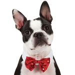 Royale Dog Bowties - Red Sequin