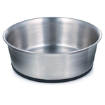 ProSelect Stainless Steel Bowls with Rubber Bases
