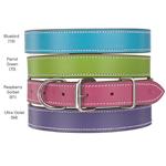 Flat Leather Collar