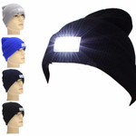 Unisex hat with LED light - Several different colors