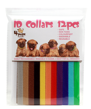 Necklace id for puppy 12-pack