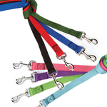Nylon Dog Leads - 8 Different colors