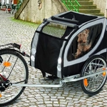 Doggy Liner Deluxe Bike Trailer - Up to 50 Kg