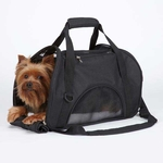 East Side Collection On The Go Pet Carriers - Black