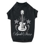 Rock Star Dog Tees - Black