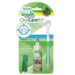 Tropiclean Fresh Breath Dog Oral Care Kit Teeth Gel