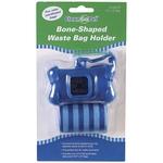 Pet Waste Bag Holders - Bone Shaped - Blue