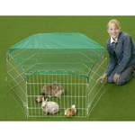 Rabbit  Exercise Pen 6 sided with Nets