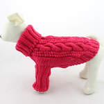 Petsters Pattern Hand Made Sweater - Pink