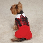 Yuletide Tartan Pet Jumpers