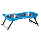 Petster Shimmer Melamine Diner - Blue