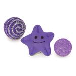 Biddie Buddies Ferret Toys 3-Packs - Purple