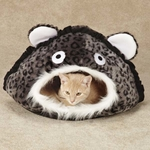 Meow Town Jungle Cat Caves - Grey Leopard