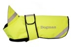 Dog cover with reflex - Neon yellow